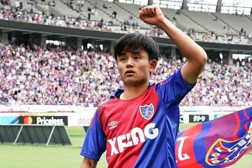 久保建英2019FC東京ガッツポーズ.jpg