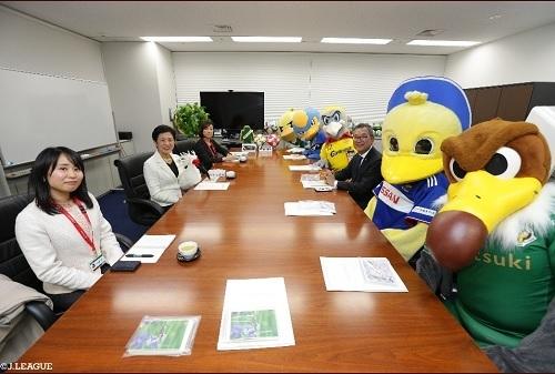高円宮久子妃殿下とJリーグ鳥の会.jpg