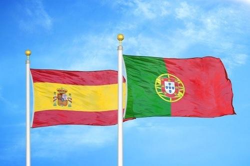 スペインとポルトガル国旗.jpg