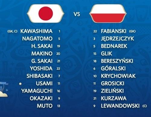 日本ポーランド戦先発.jpg