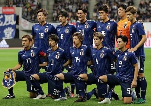 日本代表2018ウルグアイ戦試合前.jpg